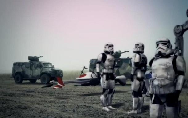 Azov Wars. Полк снял свою версию Звездных войн