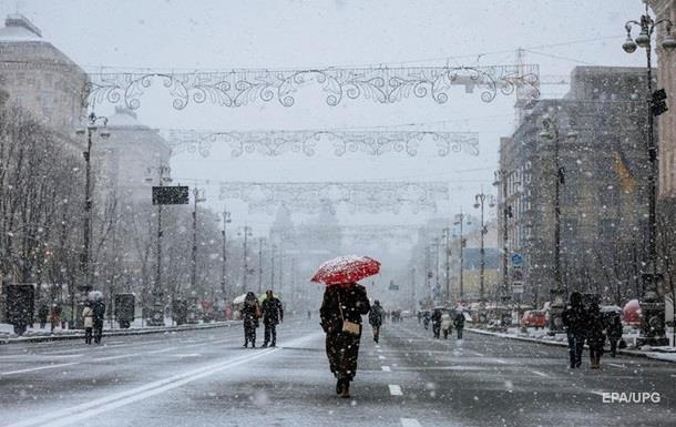 В Украине завтра ожидается мокрый снег