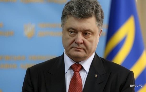 Соцопрос: Рейтинг Порошенко упал более чем вдвое