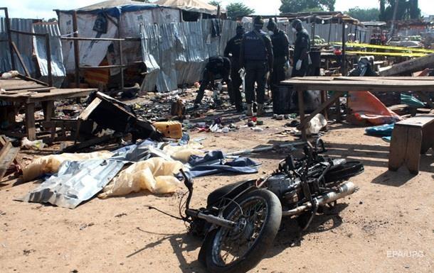 30 человек стали жертвами двух взрывов в Нигерии