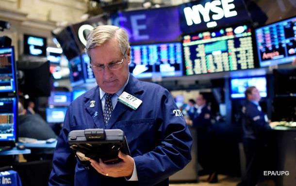 Американские биржи упали по итогам года