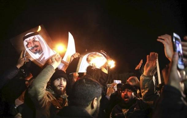 Погром посольства Саудовской Аравии в Иране