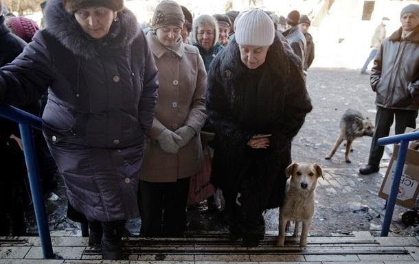 В ДНР заявляют, что раздали пенсионерам 19 млрд рублей