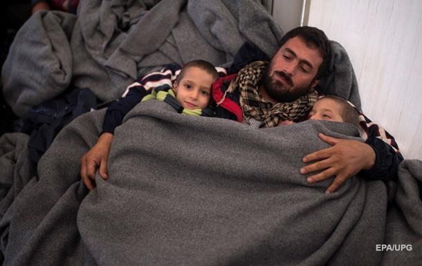 В Германию прибыло более миллиона беженцев за год