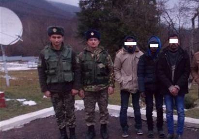 Беженцы с Цейлона задержаны пограничниками в Украине