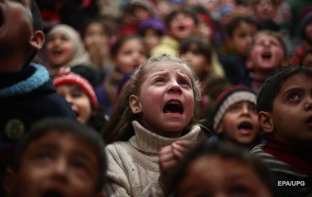 Жизнь в осаде: Би-би-си показала голод в Сирии