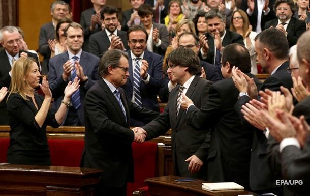 Новым главой Каталонии избран сторонник независимости региона