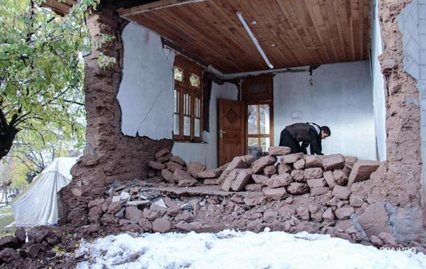 В центральной части Турции произошло землетрясение