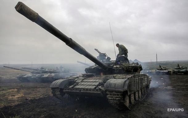 ОБСЕ заметила 32 танка у линии соприкосновения