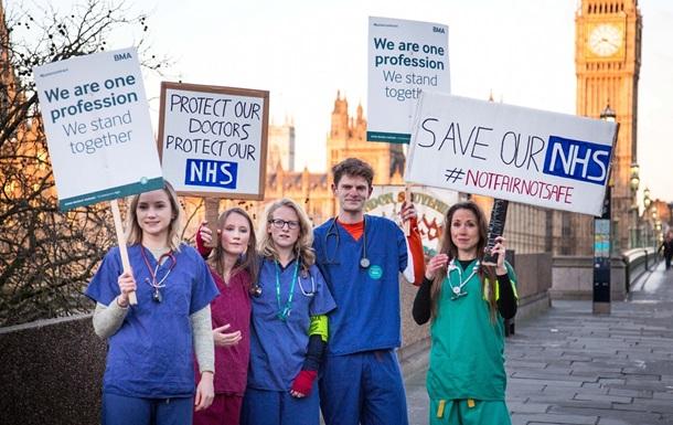 В Британии перенесли тысячи операций из-за забастовки врачей
