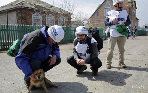 ОБСЕ и Красный крест не могут попасть в Донецк и Луганск - Генштаб