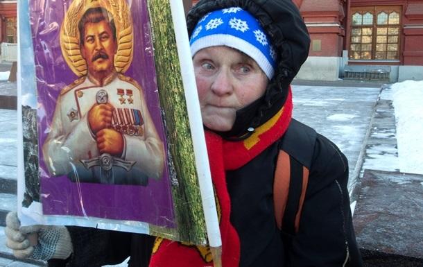 В РФ рекордно вырос уровень поддержки Сталина - опрос