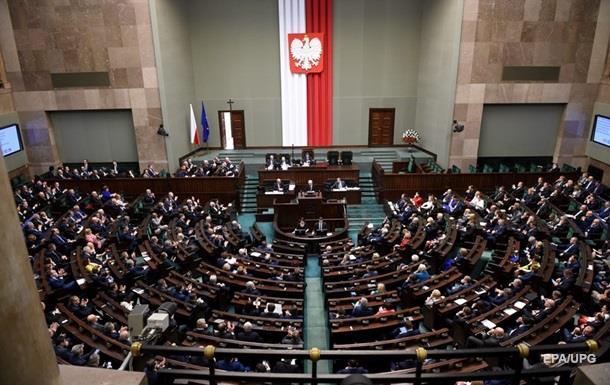 Польский Сейм закрыл  для СМИ вход в кулуары