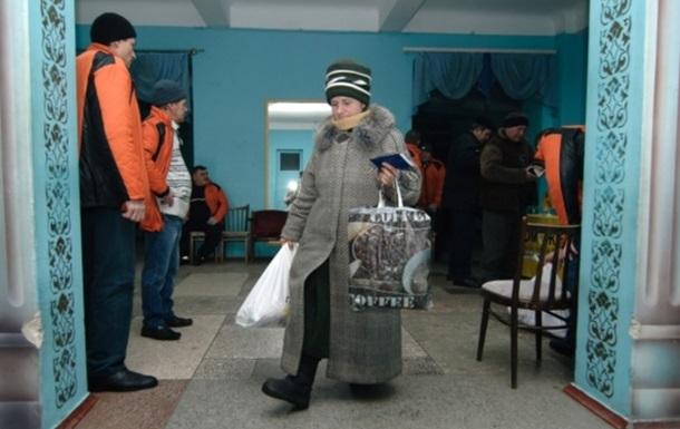 В Пески впервые доставлена гуманитарная помощь