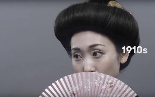 японская девушка 1910 год