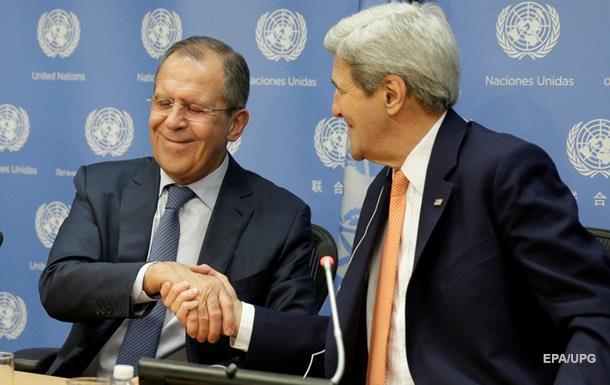 Керри и Лавров обсудили Минские договоренности