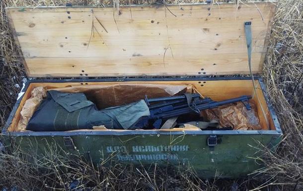 На Донбассе СБУ обнаружила два тайника с оружием