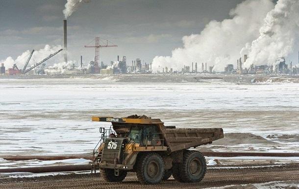 Ціна на нафту з Канади опустилися до $14