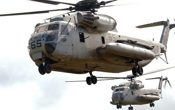 Два военных вертолета США столкнулись на Гавайях