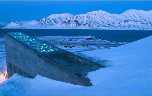 BBC показала склад в Арктике на случай конца света