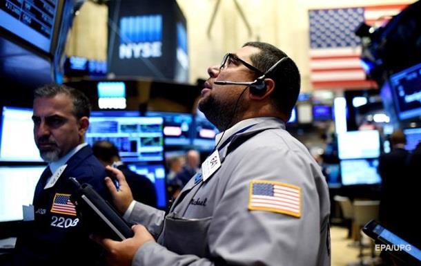 Фондовый рынок США рухнул в начале торгов