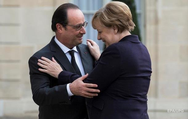 Меркель і Олланд відправили переговірників до Києва і Москви - ЗМІ