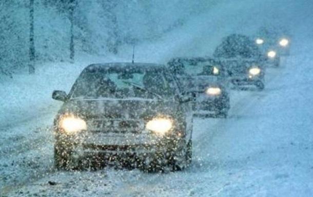 Автотрасса Одесса-Киев закрыта из-за снегопада