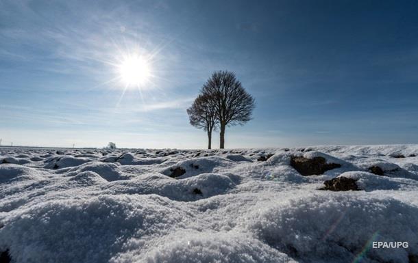 Снег в Украине