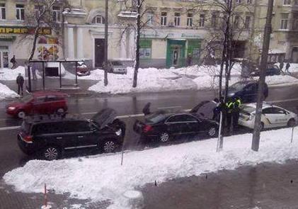 Суркиса оштрафовала новая полиция