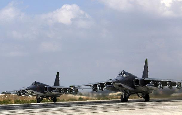 Росія повідомила про сотні нових авіаударів у Сирії
