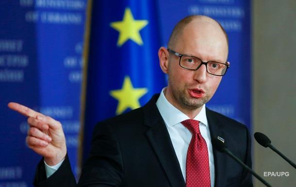 Яценюк созвал финансовый совет из-за курса гривны