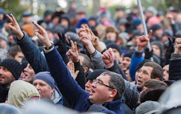 Власти Молдовы отклонили требования протестующих