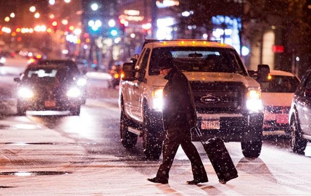 Снежный шторм в США: в шести штатах объявлено ЧП