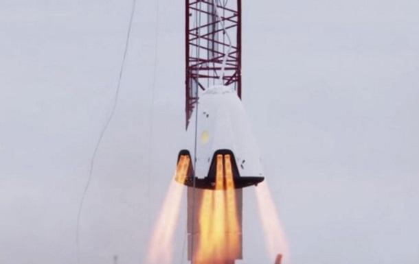 SpaceX показала испытание корабля Dragon 2