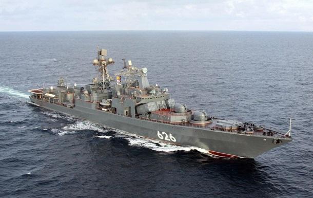 СМИ побывали на корабле ВВС России у берегов Сирии