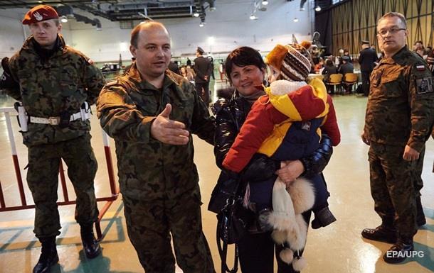 В Польше заявили о 350 тысячах беженцев из Украины