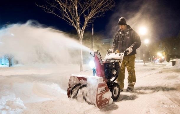 Количество погибших от снежной бури в США увеличилось