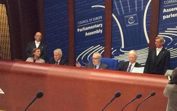 Новий голова ПАРЄ в першому виступі згадав про Україну