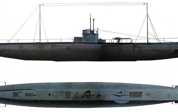 У Північному морі знайшли підводний човен Першої світової