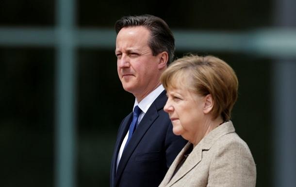 Кемерон і Меркель досягли прогресу в переговорах про реформи ЄС