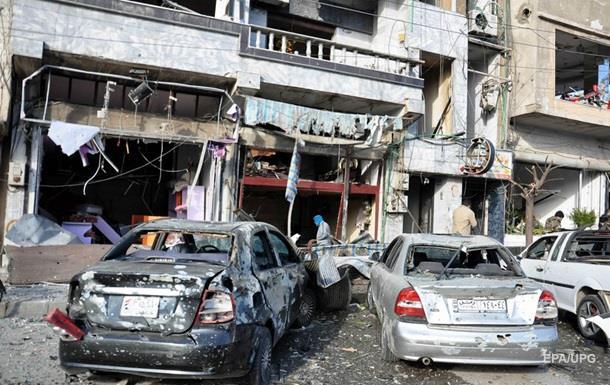Двойной теракт в Хомсе: 22 погибших, сотня раненых