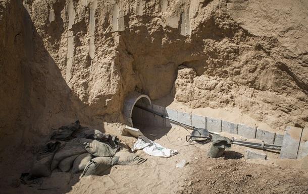 На границе сектора Газа с Израилем обвалился подземный туннель