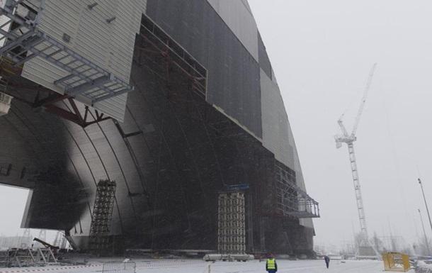 Новый саркофаг на ЧАЭС достроят к ноябрю