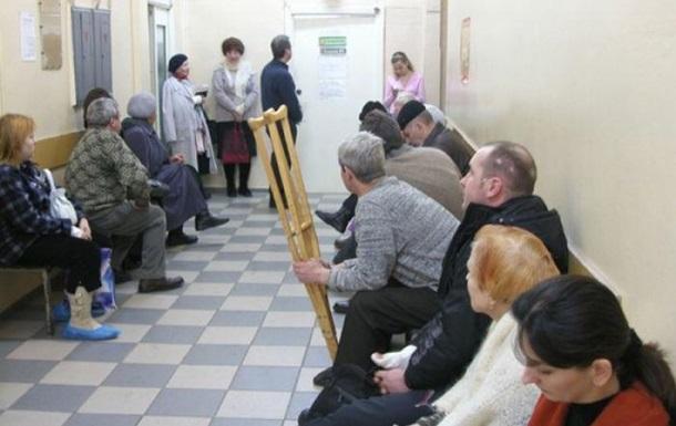 В России больной гриппом умер в очереди к врачу