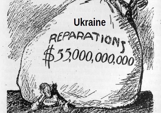 Сколько должна Россия Украине? Репарации с России.
