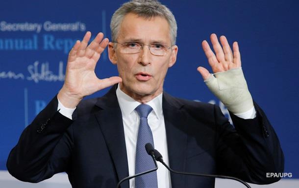 НАТО обещает Украине поддержку в  сопротивлении