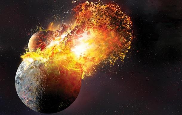 Луна появилась от  поцелуя  Земли и Тейи - ученые
