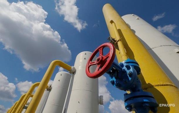 Украина использовала треть запасов газа с октября