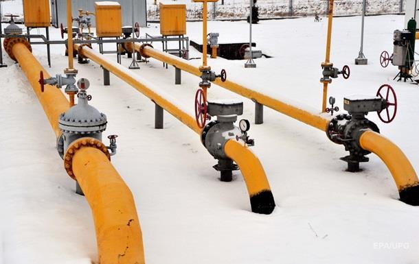 Украина в январе увеличила транзит газа