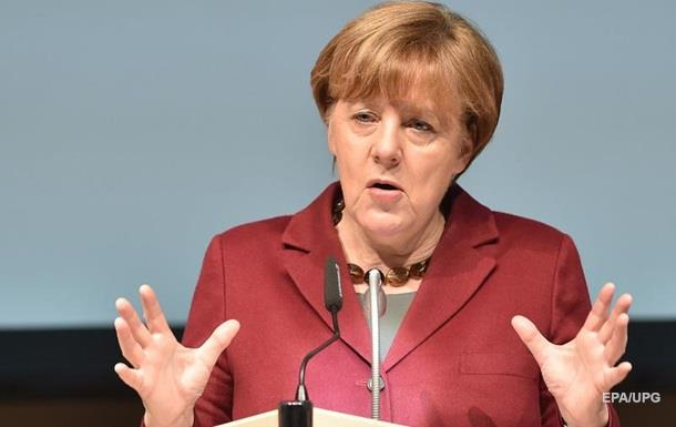 Меркель потребовала закона о выборах на Донбассе
